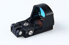 Tactical D-Point Pro Red Dot Sight Scope With 1911,1913 And Glock 3 Style Mounts