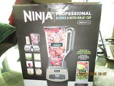 Ninja Shark Professional Blender Nutri Single Serve Cup BL660WM 1000W - NEW