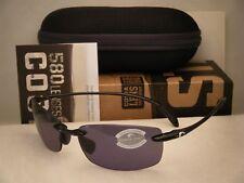 Costa Ballast Black w Grey 580P lens NEW Sunglasses (BA11 OGP)