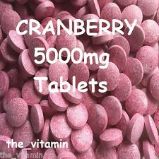 CRANBERRY 5000mg 120 TABLETS (1 or 2 per day) (L)
