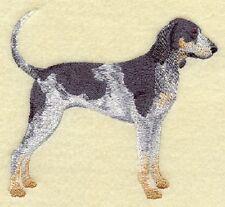 "9 x 12"" Embroidered Quilt Block Pre Order- Bluetick Coonhound"