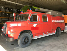 Feuerwehrauto MAN LF 16 635 Hauber Löschfahrzeug Foodtruck Wohnmobil H-Zulassung