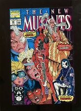 NEW MUTANTS #98 (9.2) SIGNED BY LIEFIELD 1ST DEADPOOL!