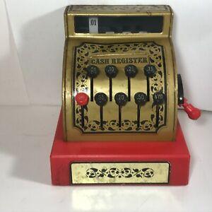 Vintage BUDDY L Toy Cash Register 1976 Works