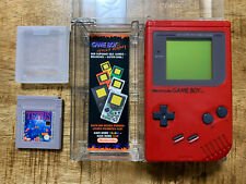 Gameboy Rot / Red Zora  /Play it Loud + OVP/not CIB/ BOXED - Top Zustand