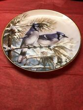 First Snowfall Collector Plate By Marc R Hanson