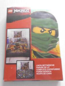 2 tlg Bettwäsche Kinderbettwäsche Kinder Lego Ninjago City Friends Movie