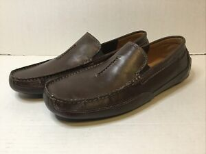 Clarks Ashmont Race Men's Slip-On Loafer Dark Brown 26142182 BRAND NEW
