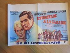 ESTOUFFADE A LA CARAIBE poster Jean Seberg Serge Gainsbourg Belgian poster 1966
