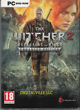 The Witcher 2 Assassins of Kings Enhanced Edition PC with bonus Brand New Sealed