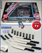 COLTELLI SHOGUN 17 pezzi Cucina Non Si Affilano Mai - Knives Couteaux Cuchillos