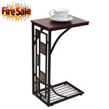 Coffee Tray Side Sofa Table Couch Room Console Stand End TV Lap Snack Drink US