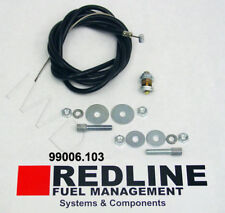 Universal Throttle (Accelerator) Cable Kit by Redline - 6 ft long - Weber Carbs