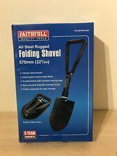 Faithfull Folding Snow/Camping/Digging Shovel/Spade/Pick/Trenching+Pouch Car/Van
