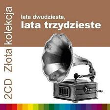 Lata 20-te, Lata 30-te - Zlota kolekcja  (CD 2 disc)  2014 NEW