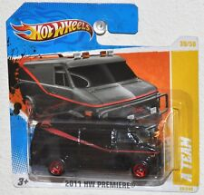 Hot Wheels 2011 #39 HW Premier #39 A Team GMC Van MOC Checkout Short Card
