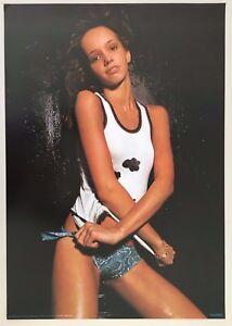 DISCO QUEEN,PHOTO BY J. BOURBOULON, MEGA RARE 1978 POSTER