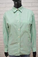 Camicia Donna MAX MARA Maglia Taglia XL Blusa Polo Shirt Woman Manica Lunga