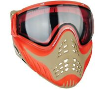 Vforce Profiler Paintball Protective Mask Goggle Red on Tan New