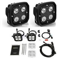 DENALI 2.0 D4 TriOptic LED MOTORCYCLE Light KIT 1 PAIR with DataDim Technology