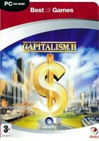CAPITALISM II - 2 Trevor Chan's Business Strategy Game - PC CD-ROM - NEW