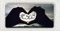 JESUS CHRIST I LOVE YOU LARGE FRIDGE MAGNET -dgb5Z