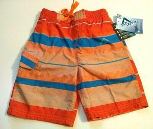 Kanu Surf Specter Quick Dry Swim Shorts, Size Small (4 ), UPF 50+, New