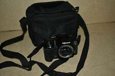 <A> PENTAX K10 SR DIGITAL CAMERA W/ CASE LOGIC BAG