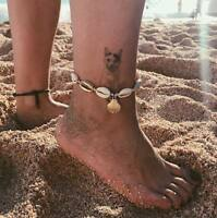 New Women Shell Anklet Ankle Bracelet Sandal Foot Chain Barefoot Beach Jewelry