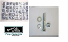 Grade 5 Bolt, Nut, Lock & Flat Washer Assortment 2360 Pieces Fine Thread