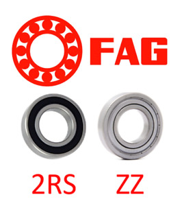 6000-6012 FAG BALL BEARING RUBBER OR METAL SEALS (2RS/2ZZ) SELECT YOUR SIZE