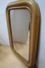 20er/30er Jahre Wand Spiegel  Art Deco Design Holzrahmen 77x50 cm Old 20s Mirror