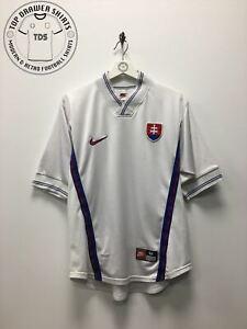 Slovakia 1998/2000 away football shirt Men's Medium