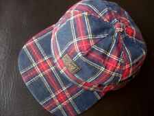 OBEY Cap Hat GLASGOW WOVEN Plaid Snapback