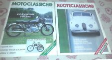 RUOTECLASSICHE + MOTOCLASSICHE # 23- NOVEMBRE 1989 - BENZ 8/20  -JAGUAR XK 120