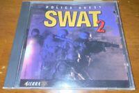 Police Quest: SWAT 2 PC Vintage Game