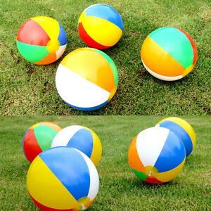 1Pcs Beach Pool Ball Inflatable Aerated Air Stress Water Educational Toys JM.fr