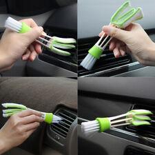 Car Auto Air Conditioner Vent Plastic Cloth Cleaning Brush Accessories