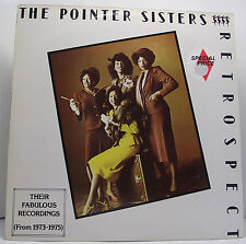 "THE POINTER SISTERS : RETROSPECT Vinyl LP Album 33rpm 12"" Excellent+"