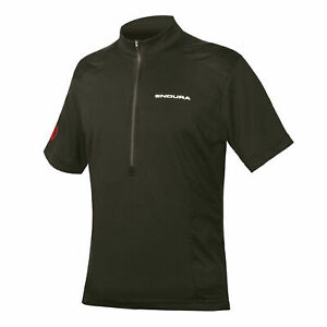Endura Hummvee S/S Jersey Short Sleeve Mens, Black (Size Small Only)