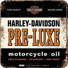 Harley Davidson Motor Cycles Pre-Luxe Oil Bike Chopper Gift Cup / Mug Coaster