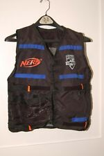 NERF N-Strike Elite Tactical Vest Black Orange Blue