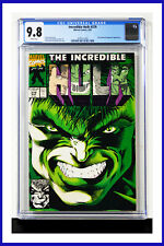 Incredible Hulk #379 CGC Graded 9.8 Marvel March 1991 White Pages Comic Book
