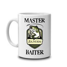 Master Baiter fun mug-Fishing mug-personalised mug-fishing gift-funny mug