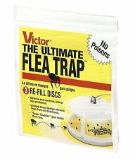 Victor M231 Ultimate Flea Trap Refills 3 Per Pack Non-Poisonous *