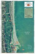 Sealake South Carolina: Pawleys Island (aerial photo) Fishing Map Chart Print