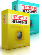50 Unique Persuasive Graphical Headline Templates (PSD + PNG) on 1 CD Vol. 2 & 3