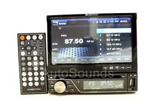 "New Soundstream VIR-7830B In-dash DVD/CD/MP3 Player 7"" Flip-Up Screen Bluetooth"