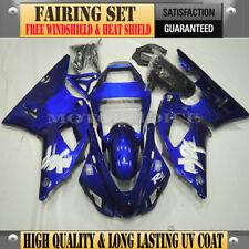 Royal Blue Fairing Kit for Yamaha YZF R1 98 99 Injection Long Last UV Coat NEW
