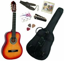 Pack Guitare Classique 3/4 (8-13ans) Pour Enfant Avec 6 Accessoires